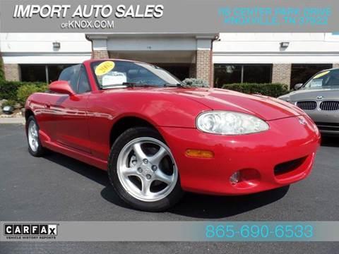2002 Mazda MX-5 Miata for sale in Knoxville, TN