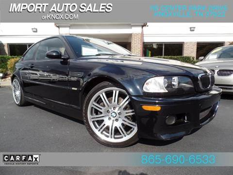 2003 BMW M3 for sale in Knoxville, TN
