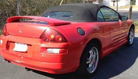 2001 Mitsubishi Eclipse Spyder for sale in Mobile, AL
