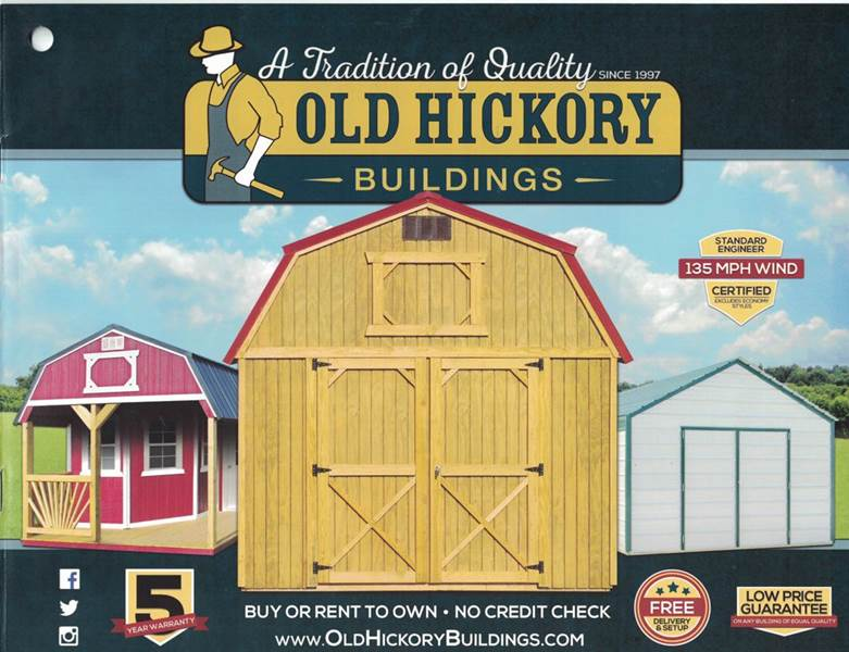 2016 old hickory buildings storage buildings in wilson nc edwards auto outlet. Black Bedroom Furniture Sets. Home Design Ideas