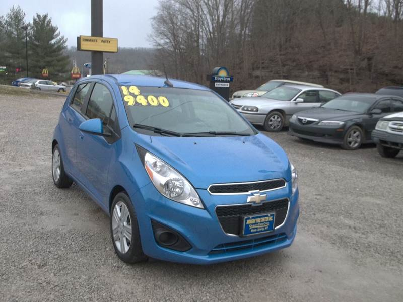 2014 chevrolet spark 1lt cvt 4dr hatchback in west liberty. Black Bedroom Furniture Sets. Home Design Ideas
