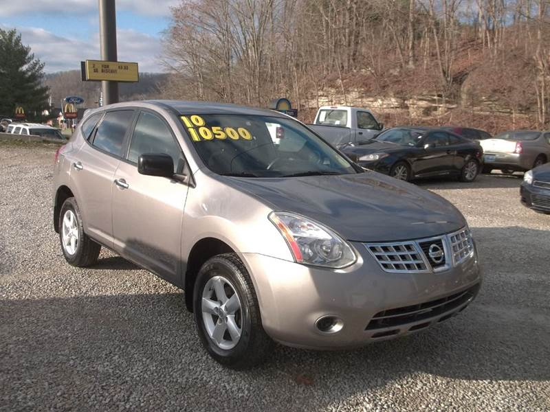 2010 nissan rogue awd s 4dr crossover in west liberty ky morgan tire ctr inc. Black Bedroom Furniture Sets. Home Design Ideas