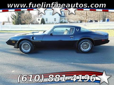 1981 Pontiac Firebird for sale in Pen Argyl, PA