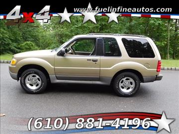2001 Ford Explorer Sport for sale in Pen Argyl, PA
