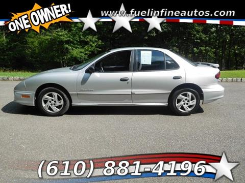 2002 Pontiac Sunfire for sale in Pen Argyl, PA