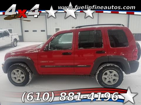 2003 Jeep Liberty for sale in Pen Argyl, PA