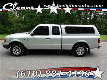 2001 Ford Ranger for sale in Pen Argyl, PA
