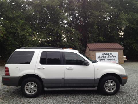 2003 Mercury Mountaineer for sale in Benson, NC