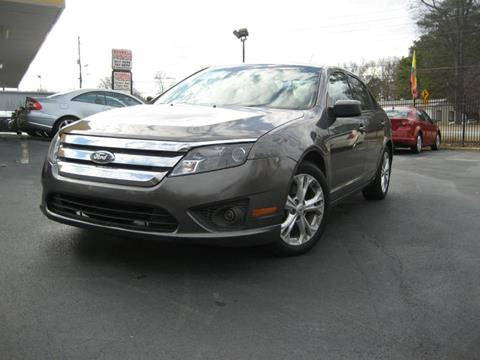 2012 Ford Fusion for sale in Marietta, GA