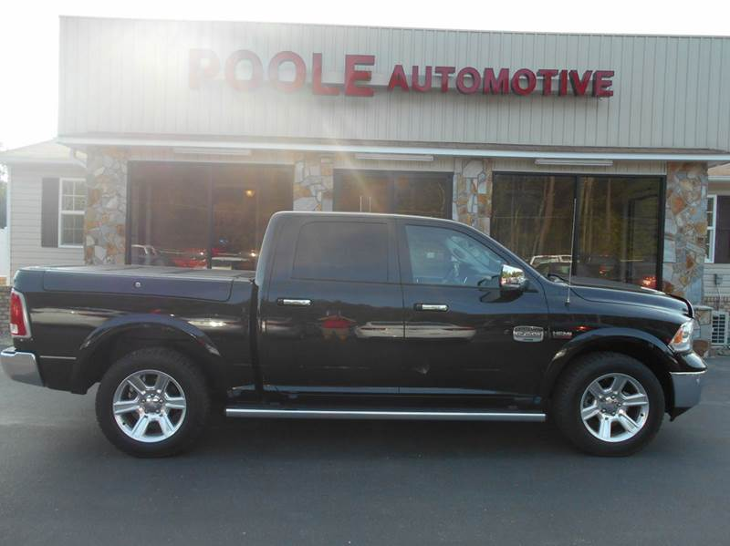 2016 ram ram pickup 1500 4x4 laramie longhorn 4dr crew cab. Black Bedroom Furniture Sets. Home Design Ideas
