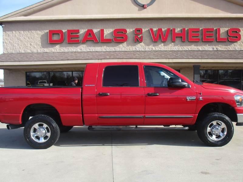 2007 dodge ram pickup 2500 slt 4dr mega cab 4wd sb in lawrenceburg tn deals on wheels. Black Bedroom Furniture Sets. Home Design Ideas