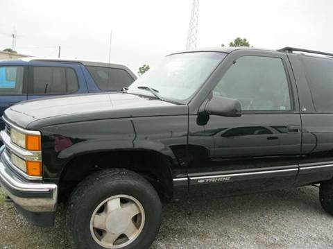 1999 Chevrolet Tahoe For Sale Los Angeles CA  Carsforsalecom