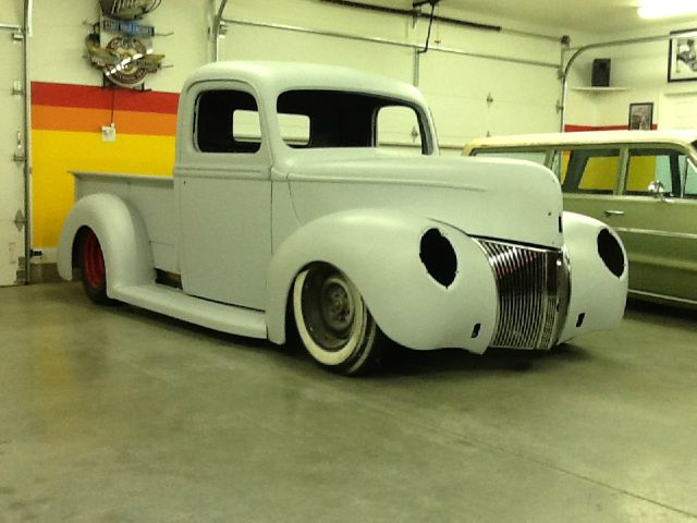 how to build a 1940 ford pickup