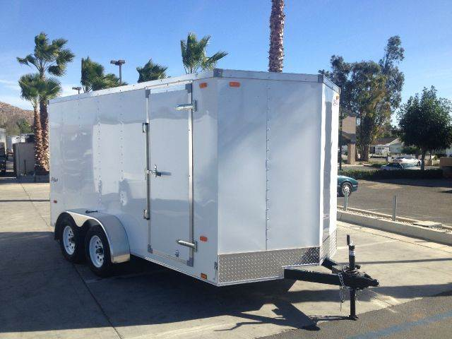 2015 7 X 14 ENCLOSED PACE AMERICAN