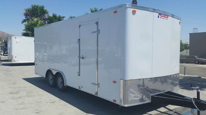 2016 8.5 X 20 ENCLOSED PACE AMERICAN