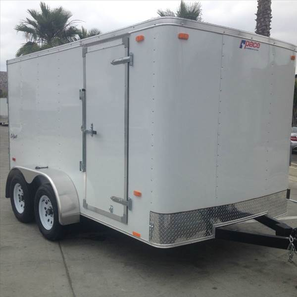 2016 7 X 12 ENCLOSED PACE AMERICAN
