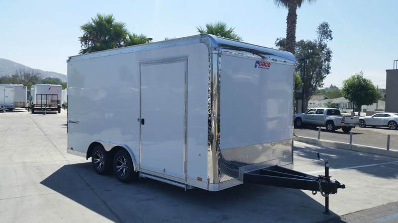 2016 8.5 X 16 ENCLOSED PACE AMERICAN