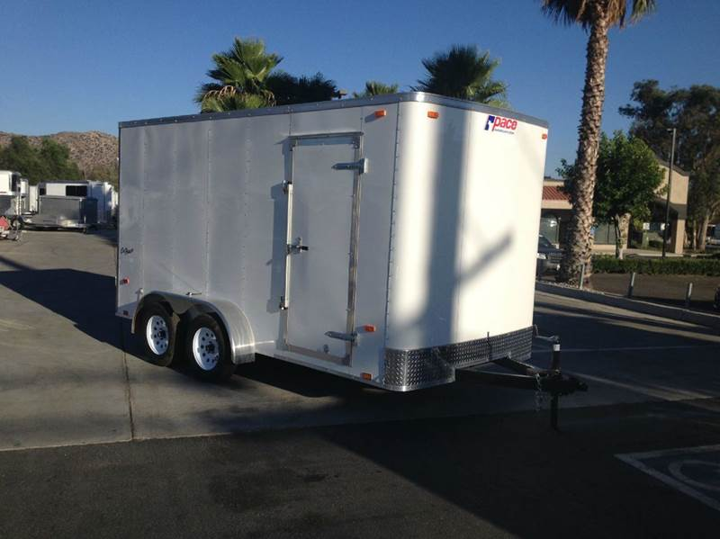 2016 ENCLOSED PACE AMERICAN OB 7 X 14 TE2