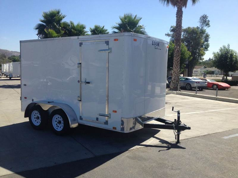 2016 ENCLOSED LOOK STLC 7 X 12 TE2