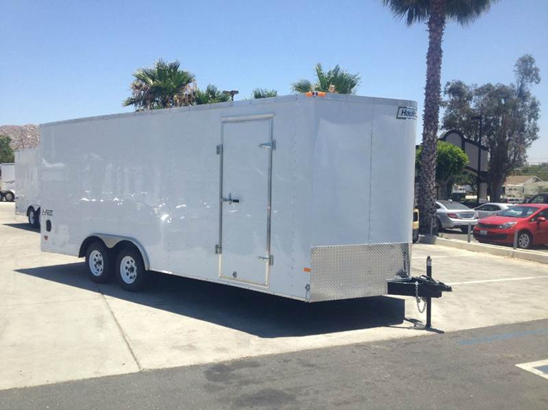 2015 8.5 X 20 ENCLOSED HAULMARK