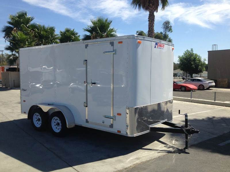 2016 7 X 14 ENCLOSED PACE AMERICAN
