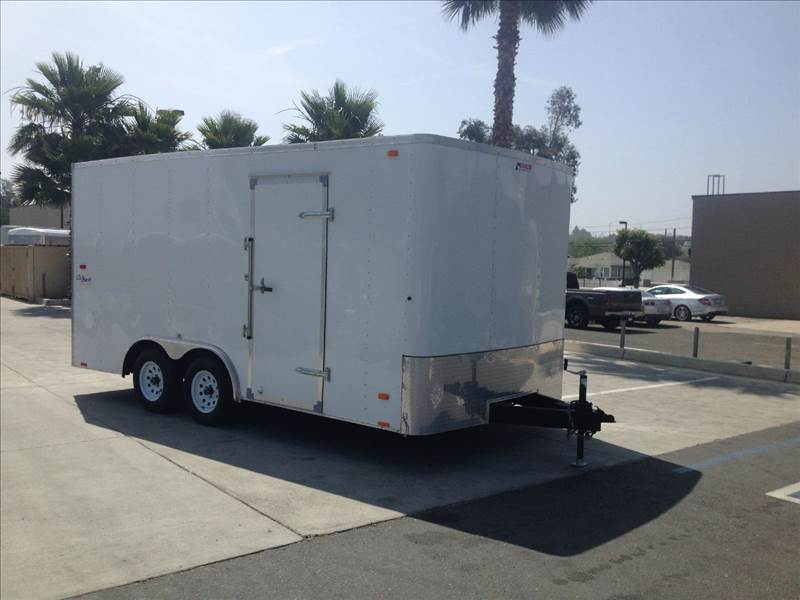 2013 8.5 X 16 ENCLOSED  PACE AMERICAN