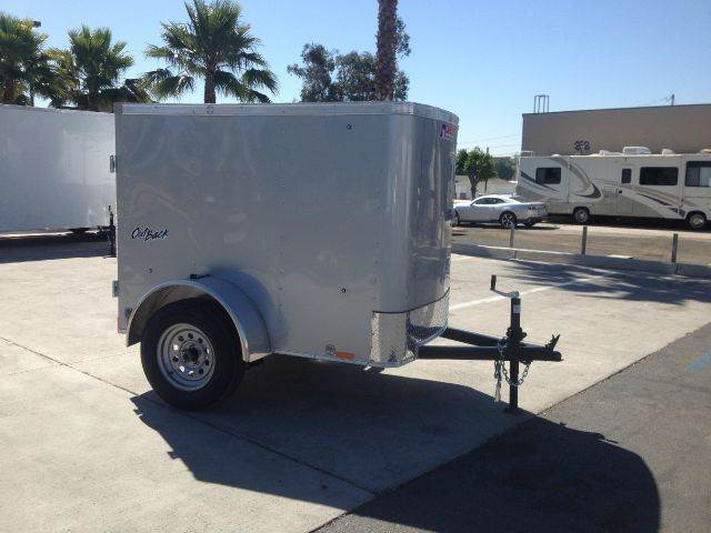 2016 4 X 6 ENCLOSED PACE AMERICAN