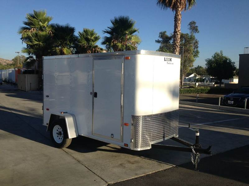 2016 ENCLOSED LOOK STLC 5 X 10S12