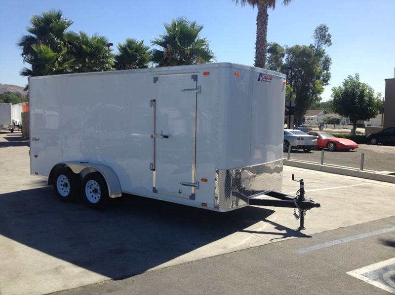2016 ENCLOSED PACE AMERICAN OB 7 X 16 TE2