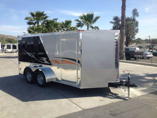 2015 7 X 14 ENCLOSED HAULMARK
