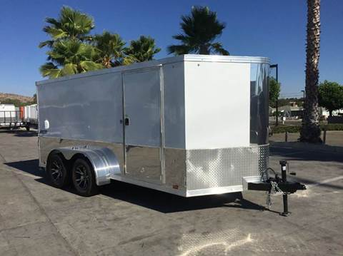 2017 14' ENCLOSED PACE AMERICAN