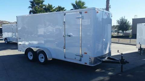 2016 7 X 16 ENCLOSED PACE AMERICAN
