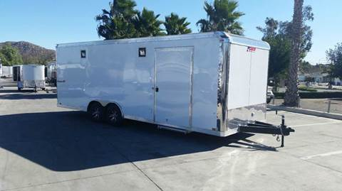 2016 8.5 X 24 ENCLOSED PACE AMERICAN
