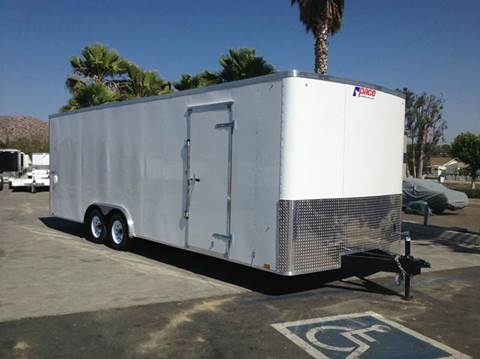 2017 24' ENCLOSED PACE AMERICAN