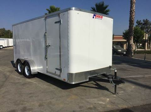 2017 16' ENCLOSED PACE AMERICAN