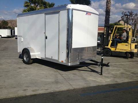 2017 Pace American 12' ENCLOSED