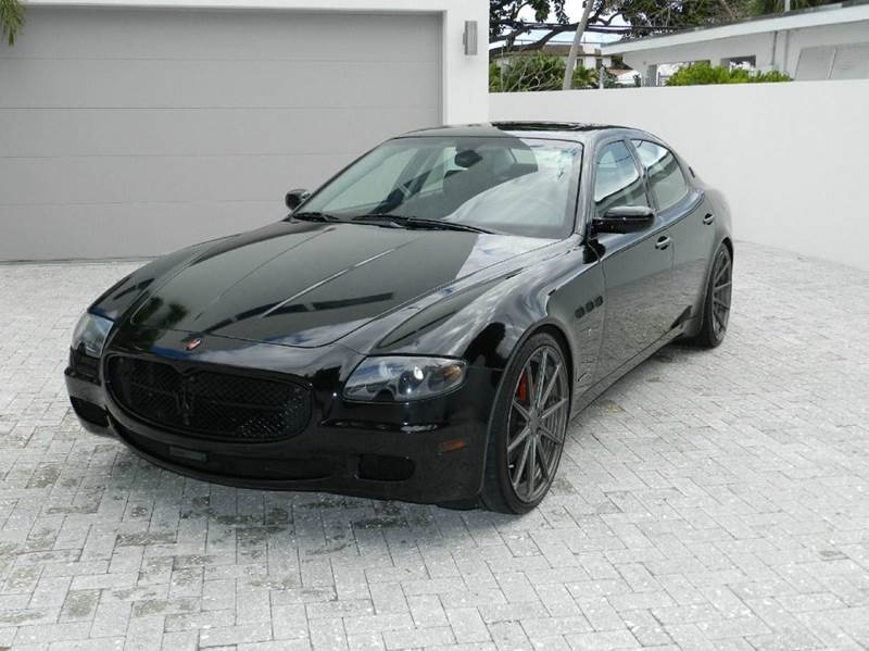 2007 maserati quattroporte executive gt duoselect 4dr sedan in mogadore oh suffield motors. Black Bedroom Furniture Sets. Home Design Ideas