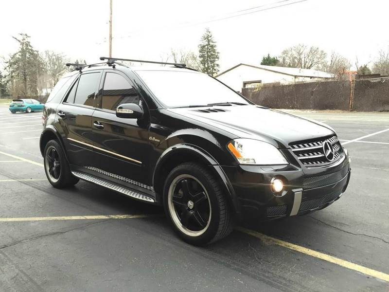 2007 mercedes benz m class awd ml63 amg 4matic 4dr suv in mogadore oh suffield motors. Black Bedroom Furniture Sets. Home Design Ideas
