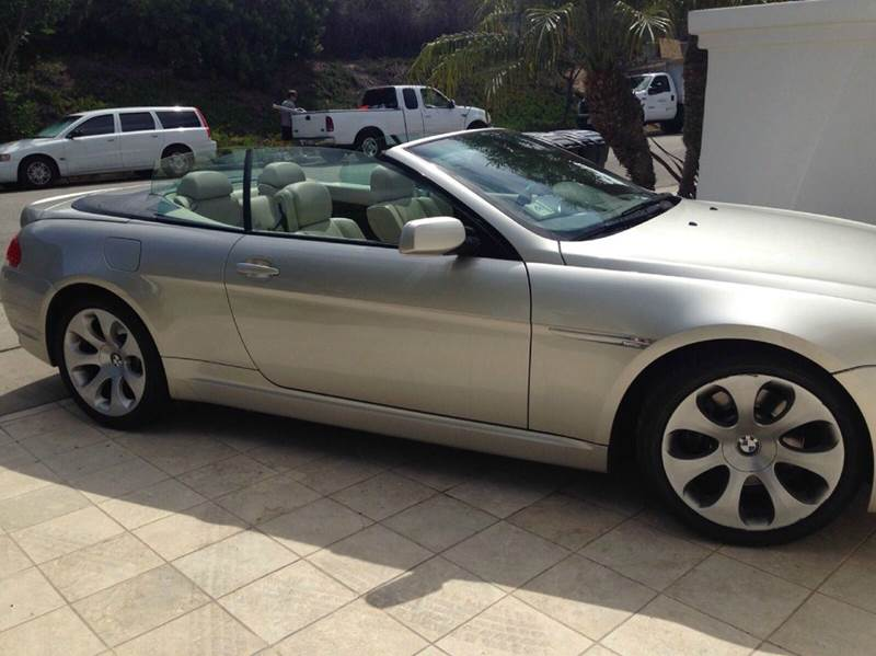 2005 bmw 6 series 645ci 2dr convertible in mogadore oh suffield motors. Black Bedroom Furniture Sets. Home Design Ideas