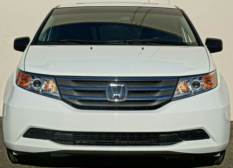 2012 HONDA ODYSSEY EX-L 4DR MINI VAN white diamond pearl abs - 4-wheel active head restraints -