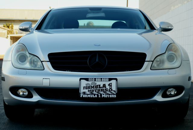 2006 MERCEDES-BENZ CLS-CLASS CLS500 4DR SEDAN iridium silver metallic whether you want coupelike