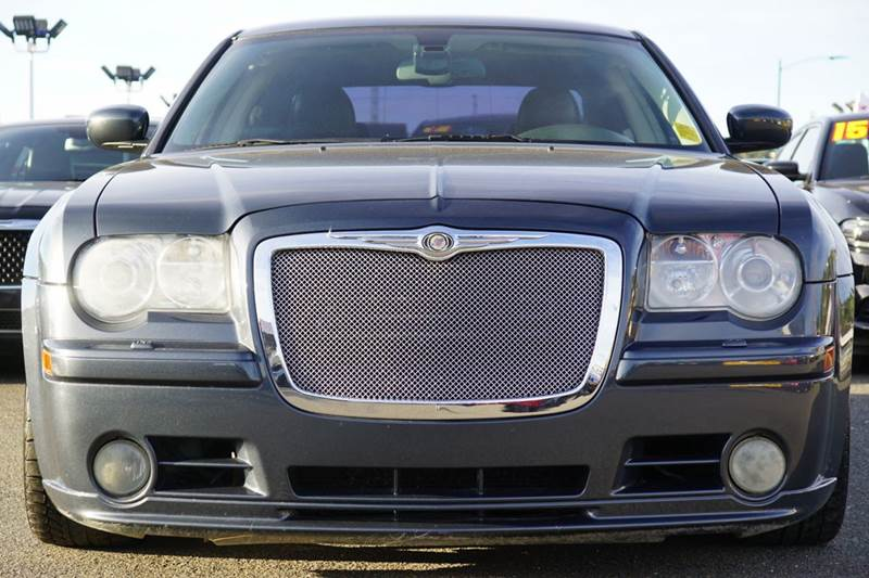 2007 CHRYSLER 300 SRT-8 4DR SEDAN steel blue metallic clearcoat 2-stage unlocking doors abs - 4-