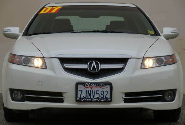 2007 ACURA TL BASE 4DR SEDAN white diamond pearl 2-stage unlocking - remote abs - 4-wheel air f