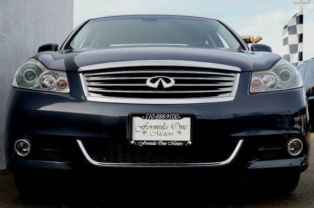 2009 INFINITI M35 X AWD SEDAN LUXURY 4DR blue slate 2-stage unlocking - remote abs - 4-wheel air