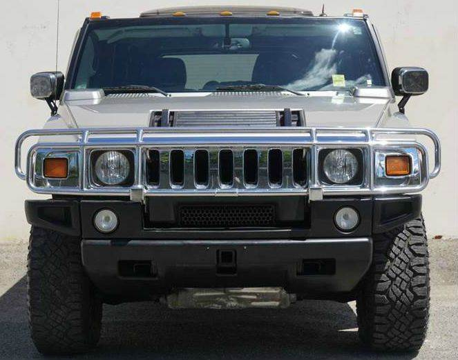 2005 HUMMER H2 BASE 4WD 4DR SUV desert sand 4wd selector - electronic hi-lo abs - 4-wheel anti-