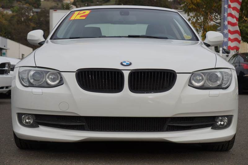 2012 BMW 3 SERIES 328I 2DR COUPE alpine white abs - 4-wheel active head restraints - dual front
