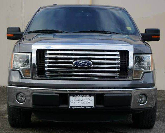 2011 FORD F-150 XLT 4X2 4DR SUPERCREW STYLESIDE sterling gray metallic 2-stage unlocking doors a