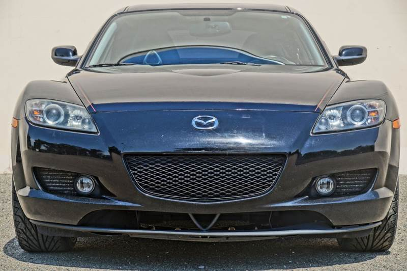 2004 MAZDA RX-8 BASE 4DR COUPE brilliant black clearcoat abs - 4-wheel anti-theft system - alarm