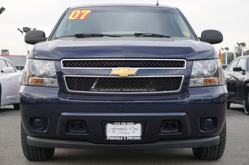 2007 CHEVROLET TAHOE LS 4DR SUV dark blue metallic 2-stage unlocking doors abs - 4-wheel airbag