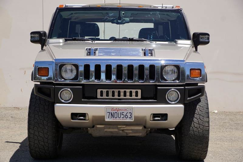 2005 HUMMER H2 SUT BASE 4WD 4DR CREW CAB SB PICKUP 4wd selector - electronic hi-lo abs - 4-wheel
